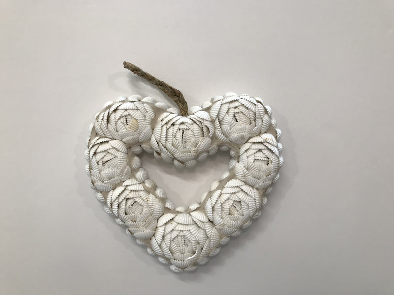 Shell Hanging Heart
