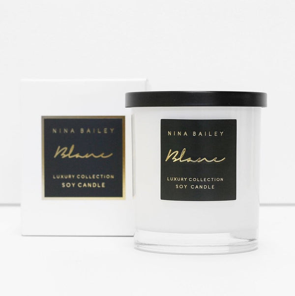 Nina Bailey Candle Lemongrass & Persian Lime