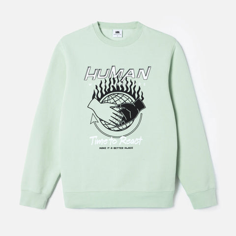 Better Place Crewneck - Mint