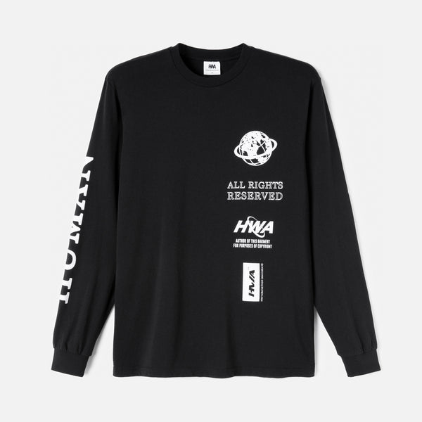 Advisory LS tee - Black