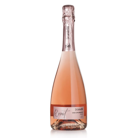 Rosat rose sparkling wine