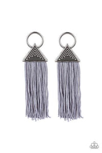 Oh my Giza Silver Tassel - Shon's Jewels Boutique