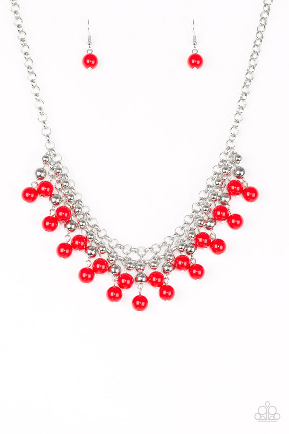 Friday Night Fringe -Red - Shon's Jewels Boutique