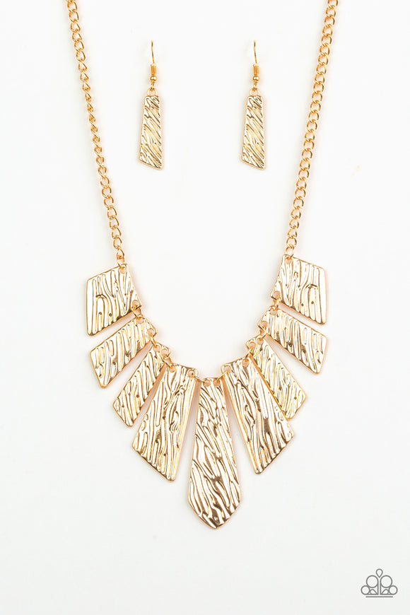 Texture Tigress- Gold - Shon's Jewels Boutique