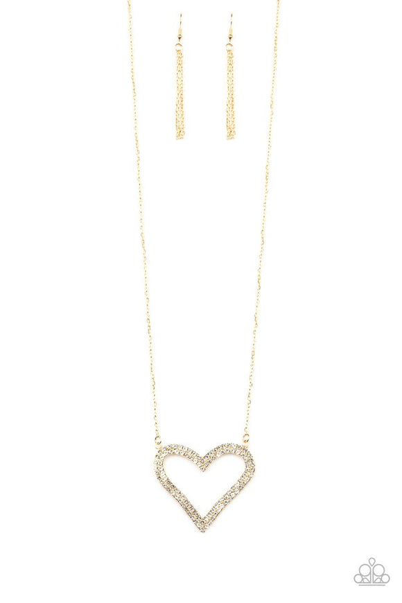 Pull Some HEART-strings - Gold - Shon's Jewels Boutique