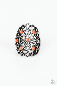 Floral Fancies-Orange - Shon's Jewels Boutique