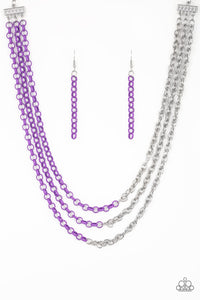 Turn Up The Volume - Purple - Shon's Jewels Boutique
