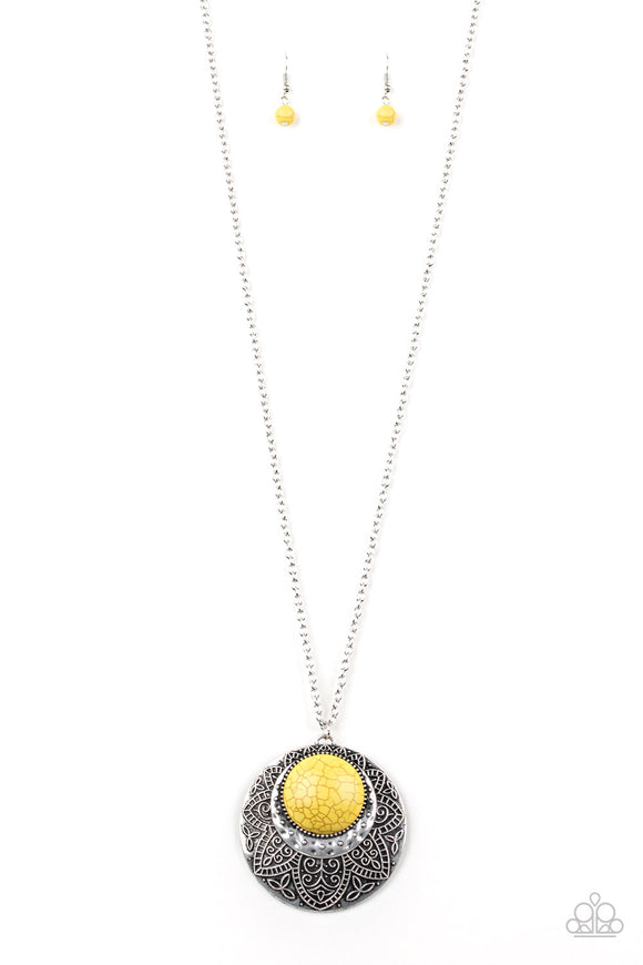 Medallion Meadow - Yellow - Shon's Jewels Boutique
