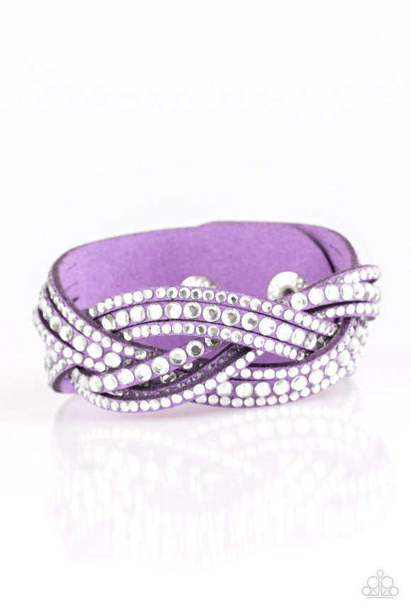 Bring on the Bling- Purple - Shon's Jewels Boutique