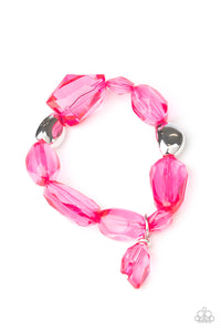 Gemstone Glamour - Pink - Shon's Jewels Boutique