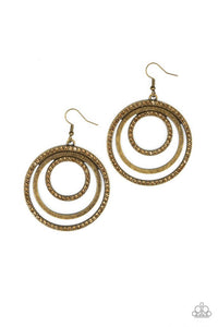 Rippling Refinement - Brass - Shon's Jewels Boutique