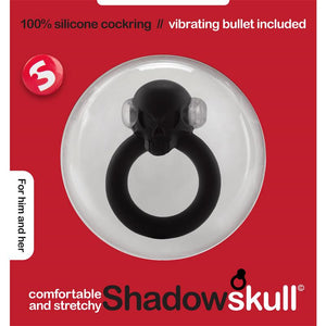 Shots S-Line Shadow Skull Cockring Black