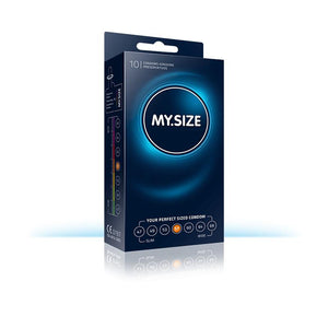 My Size Natural Latex Condom Size 57 Box of 10 Units