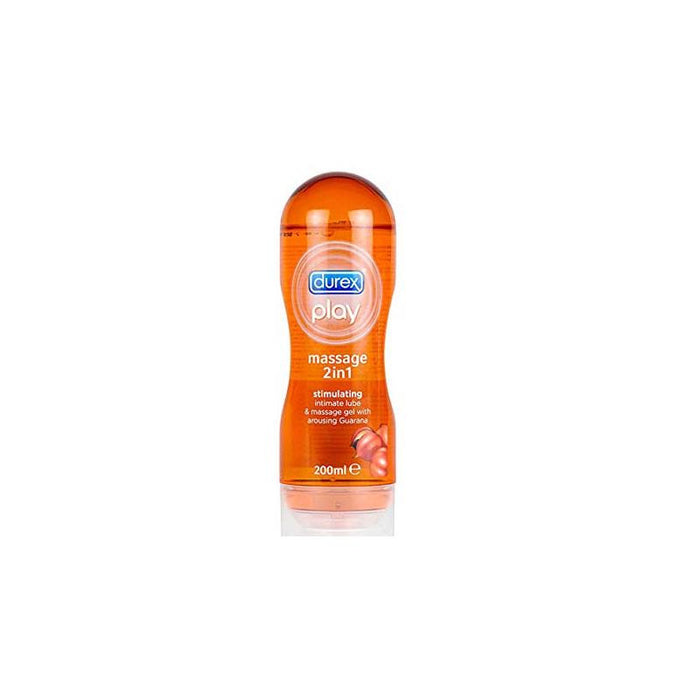 Massage Gel and Lubricant 2 in 1 Guarana 200 ml