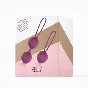 Palline Kelly Kegel in silicone viola SexToys Extreme
