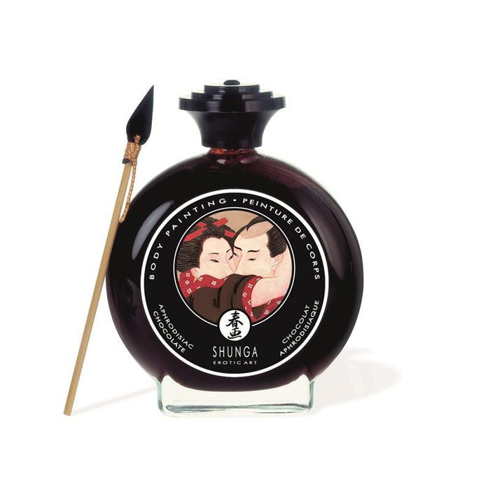 Shunga Kisable Body Paint Chocolate Flavor