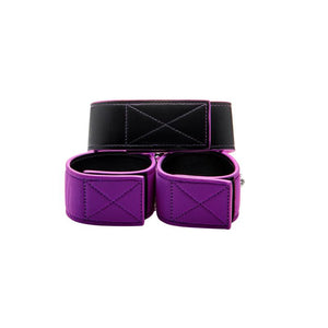Shots Ouch! Reversible Collar and Wrist Cuffs Purple
