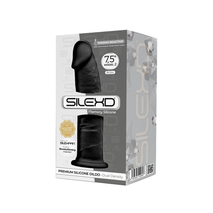 Dildo Dual Density Mod. 2 - 7.5 Black