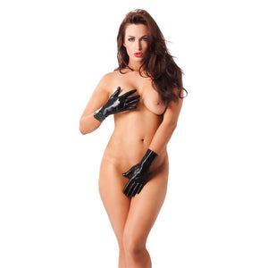 Guanti Corti in Lattice Colore Nero SexToys Extreme