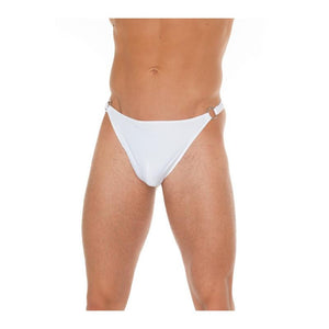 Slip with Buckles White One Size