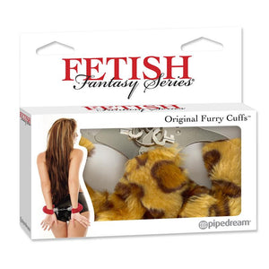 Fetish Fantasy Series Original Furry Cuffs Cheeta