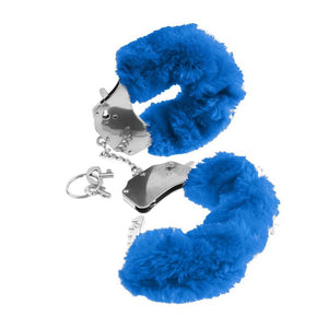 Fetish Fantasy Series Original Furry Cuffs Blue