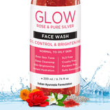 Rose Face Wash For Oily Skin To Dry Skin, 200ml
