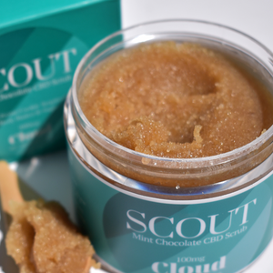 SCOUT Thin Mint Foot + Body Scrub - Cloud