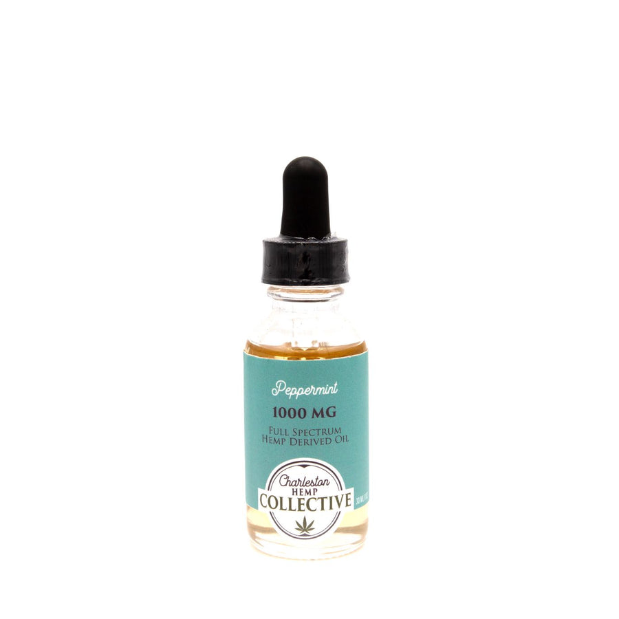 1000 MG Full Spectrum Tincture Peppermint