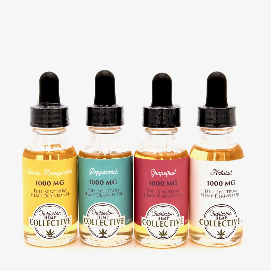 1000 MG Full Spectrum Tincture Grapefruit