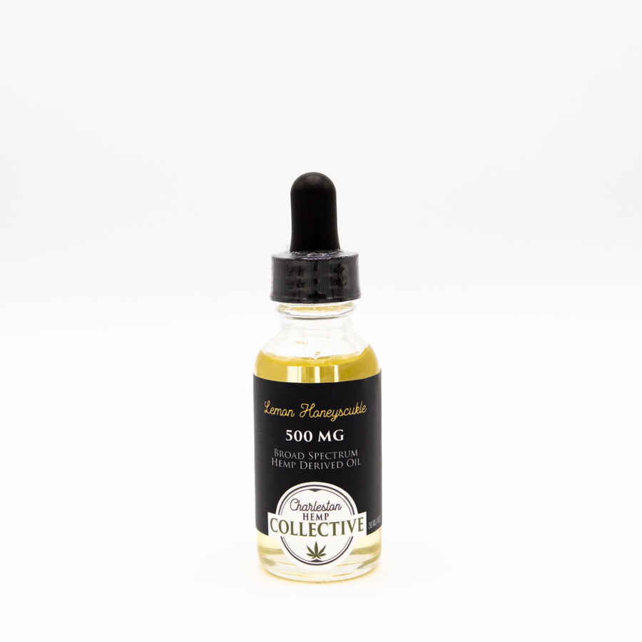 500 MG Broad Spectrum Tincture Lemon Honeysuckle