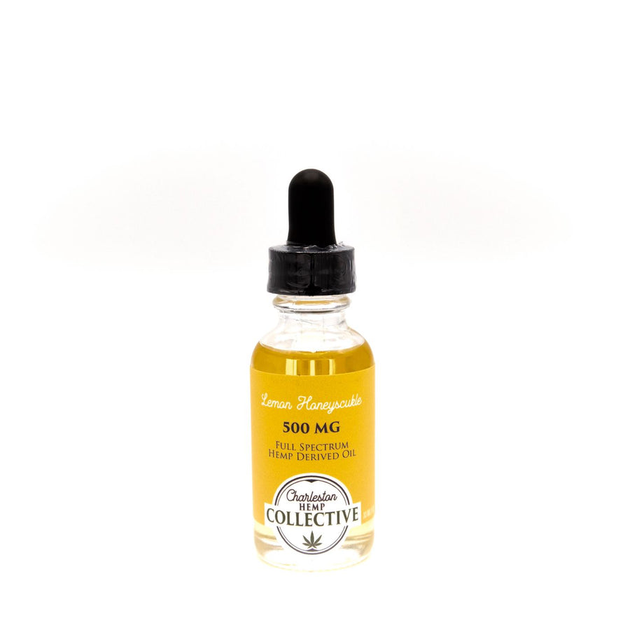 500 MG Full Spectrum Tincture Lemon Honeysuckle