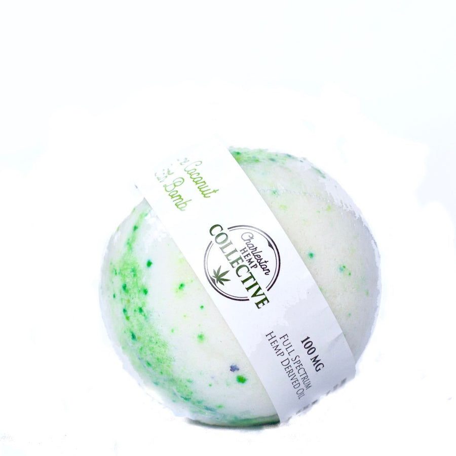 Lime Coconut Bath Bomb