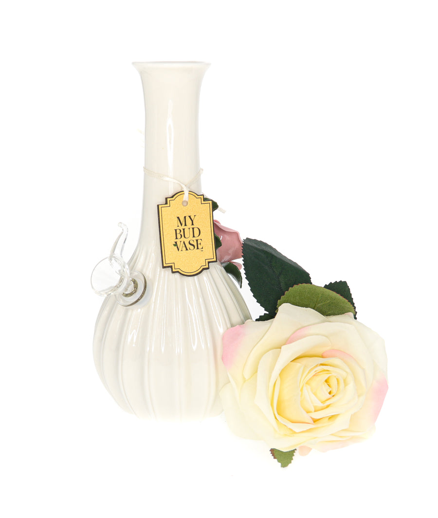 Rose Bong with Poker on Side