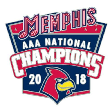 Memphis Redbirds 2018 National Champions Pin
