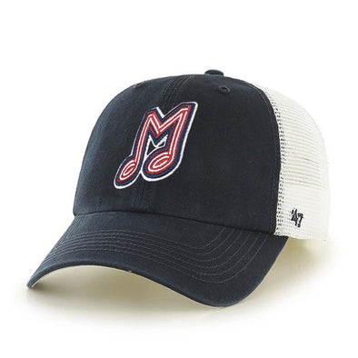 Memphis Redbirds Blue Hill 47' Closer Navy Cap