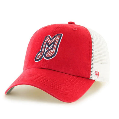 Memphis Redbirds Blue Hill '47 Red Closer Cap