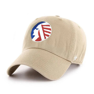Memphis Chicks  '47 Clean Up Beige Adjustable Hat