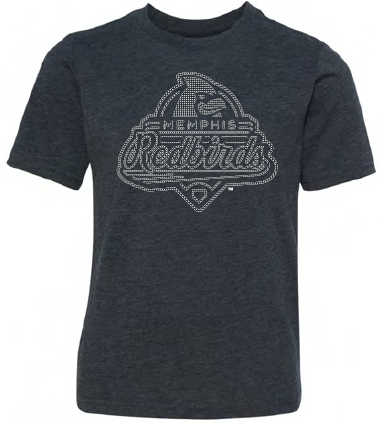 Memphis Redbirds 108 Stitches Youth Lights Out Tee