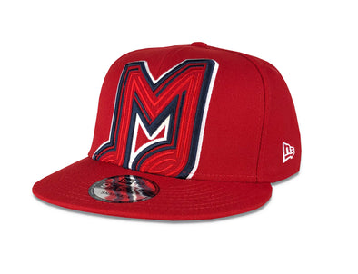 Memphis Redbirds New Era 59Fifty Snapback Red Elemental Cap