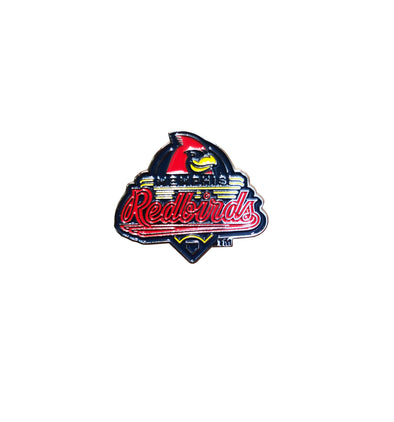 Memphis Redbirds Primary Lapel Pin