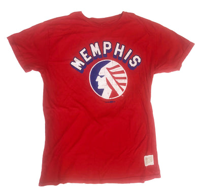 Memphis Redbirds Memphis Chicks Retro Brand Red T-Shirt