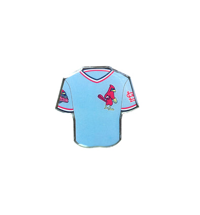 Memphis Redbirds Powder Blue Jersey Lapel Pin