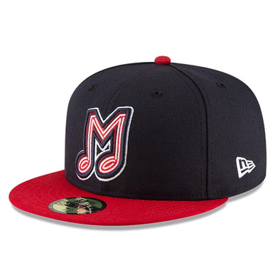 Memphis Redbirds New Era 59Fifty Fitted Authentic Road Cap