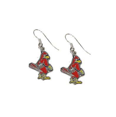 Memphis Redbirds Dangle Dirty Bird Earrings