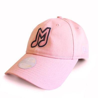 Memphis Redbirds New Era 9Forty Lady's Pink Adjustable Cap