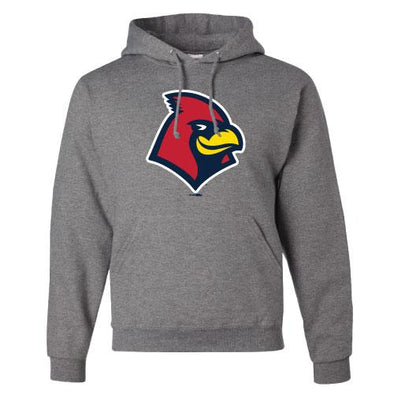 Memphis Redbirds Hooded Sweatshirt Grey