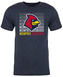 Memphis Redbirds 108 Stitches Repeater Tee