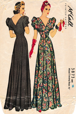 The Blue Gardenia | Vintage Sewing Patterns