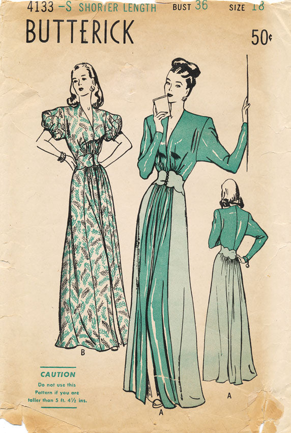This is the hostess gown dreams are made of.